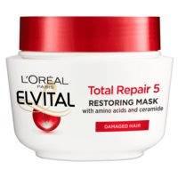 L'Oreal Paris Elvital Total Repair 5 Hair Mask For Damaged Hair (300mL)