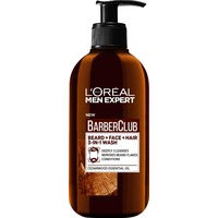 L'Oreal Paris Men Expert Barber Club Beard, Face And Hair Wash (200mL)