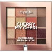 L'Oreal Paris Cherry My Cheri Eyeshadow Mega Palette 01 Cherry My Cheri