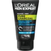 L'Oreal Paris Men Expert Pure Charcoal Face Scrub With Black Charcoal (100mL)