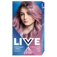 Schwarzkopf Live Ultra Bright or Pastel 105 Purple Rosé Gold