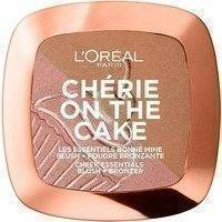 L'Oreal Paris Chérie On The Cake Duo Bronzer & Blush (9g) 01 Cherry Fever