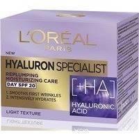 L'Oreal Paris Hyaluron Specialist Replumping Moisturising Day Cream With Hialuronic Acid SPF 20 (50mL), L'Oreal Paris