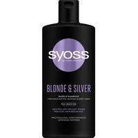 Syoss Shampoo Blonde&Silver (440mL), Syoss