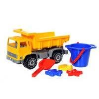 Hiekkalelusetti ja kuorma-auto, Plasto online