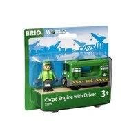 BRIO World - 33894 Lastlok med förare, online