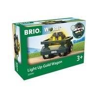 BRIO World - 33896 Guldletarvagn med ljus, online