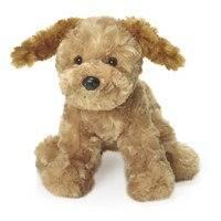 Mjukisdjur Teddy Dogs, Hund, Beige, Teddykompaniet
