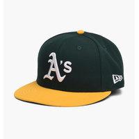 New Era - Oakland Athletics Fitted Cap - Vihreä - 7 3/8