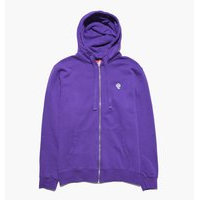 Caliroots - Palm Patch Zip Hoodie - Violetti - L