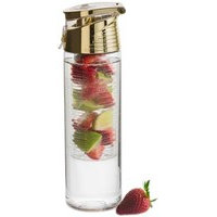 Fresh pullo hedelmäkolvilla, kulta, Sagaform
