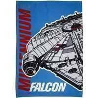 Star Wars Official Childrens/Kids Millennium Falcon Fleece Blanket