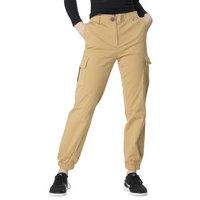 Premium Cargo Pants In Beige, Fiorellashop