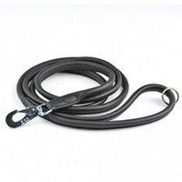 Nahkatalutin pyöreä Feel Round, musta (6 mm x 180 cm), Feel Leather