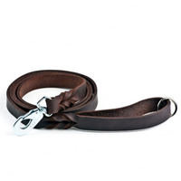 Nahkatalutin Feel Braid, ruskea (18 mm x 180 cm), Feel Leather
