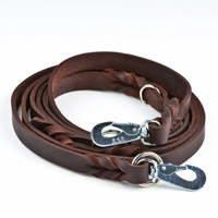 Monitoimitalutin Feel Braid, ruskea (2,2 x 300 cm), Feel Leather
