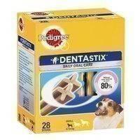 Pedigree Dentastix Small, 28 kpl Kuukausipakkaus