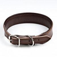 Panta leveä vuorella Feel Wide, ruskea (3,5 x 65 cm), Feel Leather
