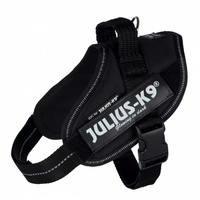 Julius-K9 IDC Power koiran valjaat, musta (M/L)