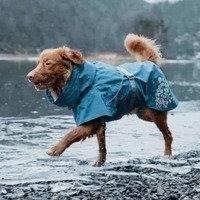 Hurtta Monsoon takki mustikka 20 cm