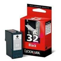 Musta mustekasetti LE-18CX032E, Lexmark
