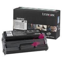 Musta värikasetti LE-0012A7405, Lexmark
